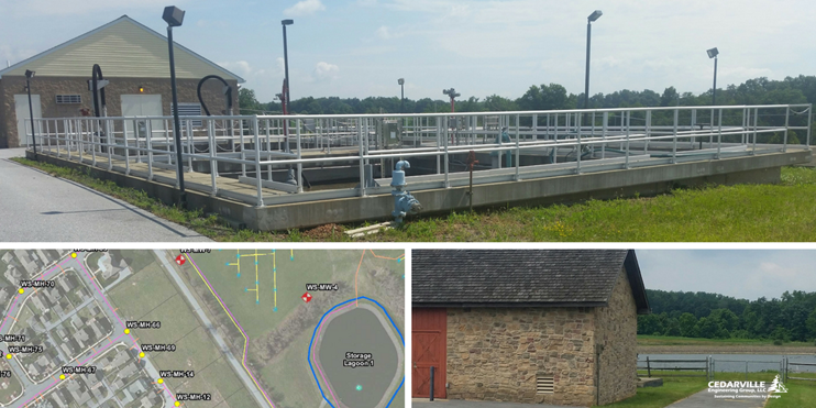 Cedarville Engineering Wastewater Treatment West Vincent Township PA