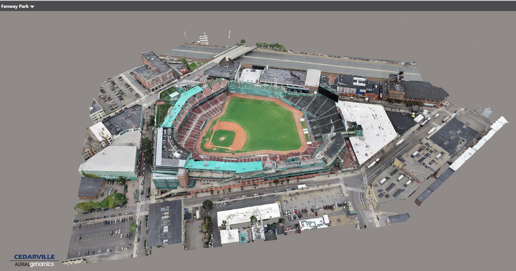 3D Model of Fenway Park