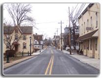East Walnut Streetscape for North Wales